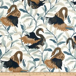 Dwell Studio Swanwood Bronze Fabric