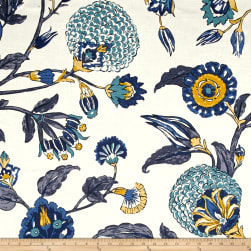 Dwell Studio Slub Auretta Peacock Fabric