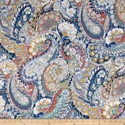 Robert Allen @ Home Zen Paisley Porcelain Fabric
