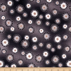 Kanvas Floral Philosophy Daisy Charcoal
