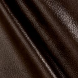 Richloom Tough Faux Leather Longville Chocolate Fabric