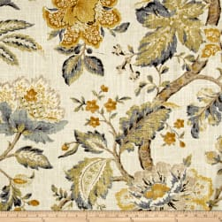 P/Kaufmann Secret Garden Linen Mist Fabric