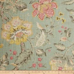 P/Kaufmann Secret Garden Linen Powder Fabric