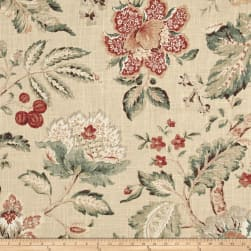 P/Kaufmann Secret Garden Linen Document Fabric