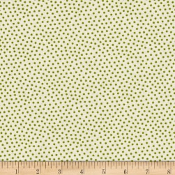 Reindeer Magic Dots Cream Fabric