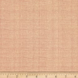 Celebrating Christmas Mini Check Cream/Pink Fabric