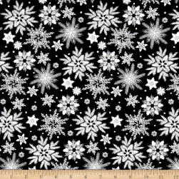 Holiday Homecoming Snowflake Black