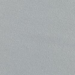 Fluffy Solid Flannel Gray Fabric