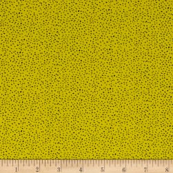 Sweet Florals Scattered Dot Citrus Fabric