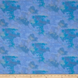 Faith Texture Blue Fabric