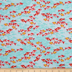 Coral Reef Fish Coral Fabric
