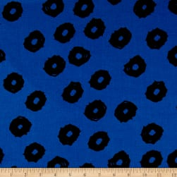 Twilight Mud Cloth Dot Twilight Blue Fabric