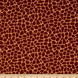 Susybee Zoe the Giraffe Skin Brown Fabric