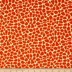 Susybee Zoe the Giraffe Skin Orange Fabric