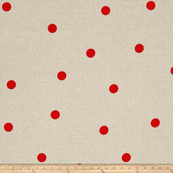 Green and Red Punch Red Fabric