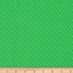 Green and Red Vivid Green Fabric