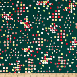 Green and Red Packages Green Fabric