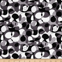 Andover And Z Mod Black Fabric