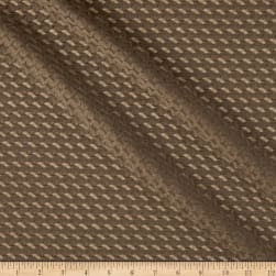 Designer Italian Stretch Mesh Knit Mocha Fabric