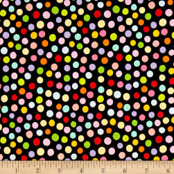 Alexander Henry Plie Dot Black/Multi Fabric