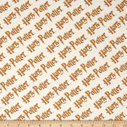 Harry Potter Digital Diagonal Logo Multi Fabric