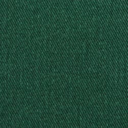 12 oz Brushed Bull Denim Twill Forest Green