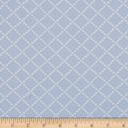 Moda Guernsey Kit Flower Plaid Sky