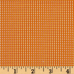 Moda Spring- A-Ling Check Orange Fabric