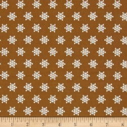 Moda Sugar Plum Christmas Snow Flakes Gingerbread