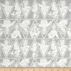 DC Comics Wonder Woman Triangles Stone Fabric