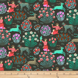 Amy Butler Splendor Forest Friends Dusk Fabric