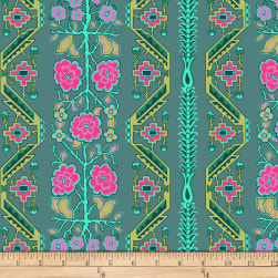 Amy Butler Splendor Native Folk Sage Fabric