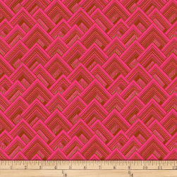 Amy Butler Splendor Mighty Corners Cherry Fabric