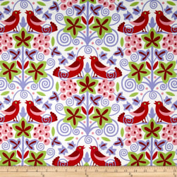 Jane Sassaman Scandia Vineyard Red Fabric
