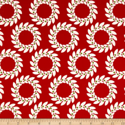 Jane Sassaman Scandia Garland Red