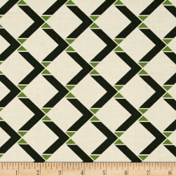 Denyse Schmidt Winter Walk Bowtie Square Evergreen