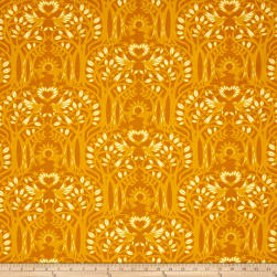 Heather Bailey Hello Love Norwegian Wood Gold Fabric