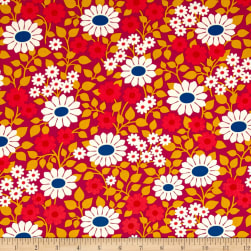 Heather Bailey Hello Love Fields Forever Violet Fabric