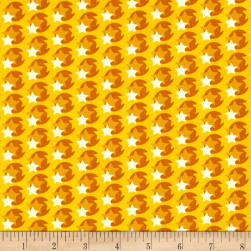 Heather Bailey Hello Love Pop Star Yellow Fabric