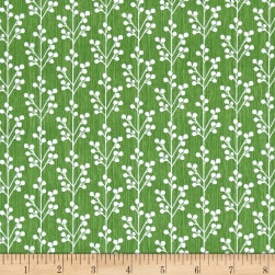 Dena Designs Winterland Sprig Green Fabric