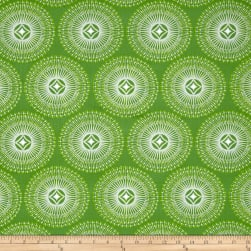 Dena Designs Winterland Sparkle Green Fabric