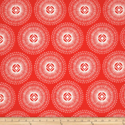 Dena Designs Winterland Sparkle Red Fabric