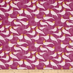 Joel Dewberry Modernist Perch Plum Fabric