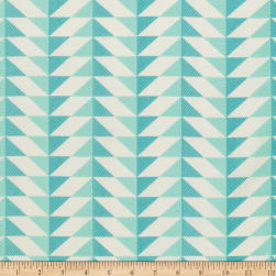 Joel Dewberry Modernist Arrowhead Aegean Fabric