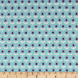 Joel Dewberry Modernist Voile Tulip March Aqua