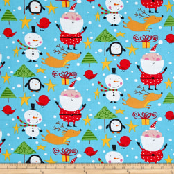 David Walker Merry Christmas North Pole Merry Fabric