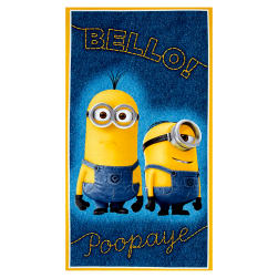 "Millions Of Minions Bello! Poopaye 23.5"" Panel Denim"