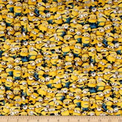 Millions Of Minions Packed Minions Yellow Fabric