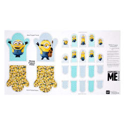 "Millions Of Minions Minion Hand Puppet 24"" Panel Multi"