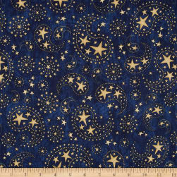 Stars & Stripes Forever Star Paisley Dark Denim